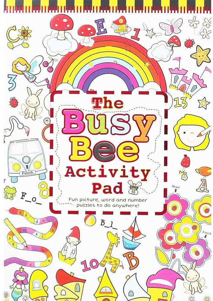 The Busy Bee Activity Pad - Girls