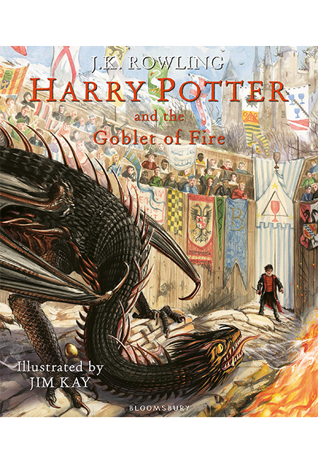 Sách - Harry Potter And The Goblet Of Fire: Illustrated Edition - Phương Nam Book