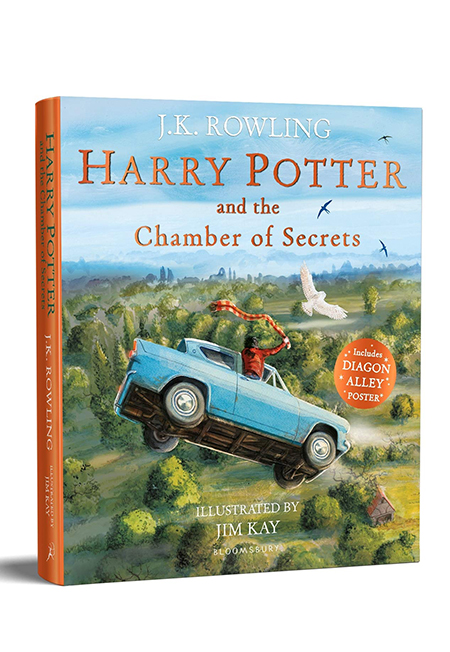 Sách - Harry Potter And The Chamber Of Secrets: Illustrated Edition - Phương Nam Book