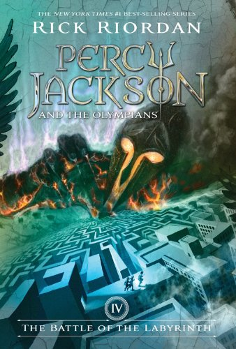Sách - Percy Jackson And The Olympians #4: The Battle Of The Labyrinth - Phương Nam Book