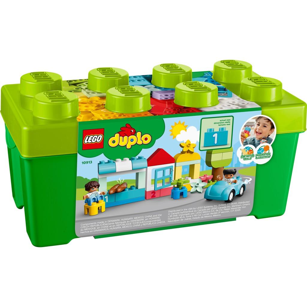 Đồ Chơi :: Đồ Chơi :: Đồ Chơi Lắp Ghép, Xếp Hình :: LEGO Duplo - Thùng Gạch  Sáng Tạo 10913